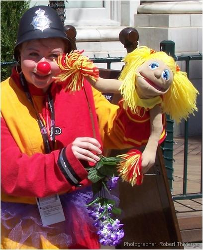 Clown's Cheerleader