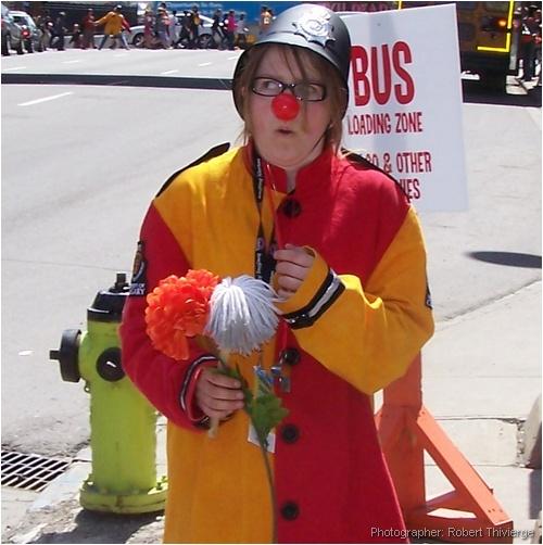Nervous Clown Cop