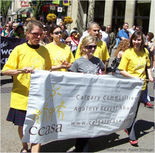 Walking against sexual abuse