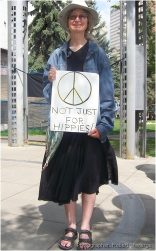 Peace is not just for hippies