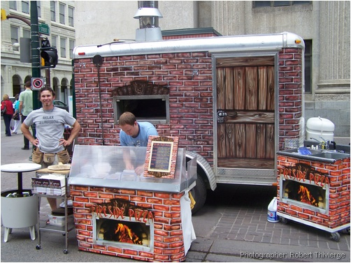 Fireside Pizza on Stephen Avenue