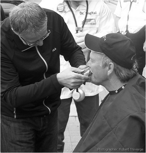 Shaving for a cause