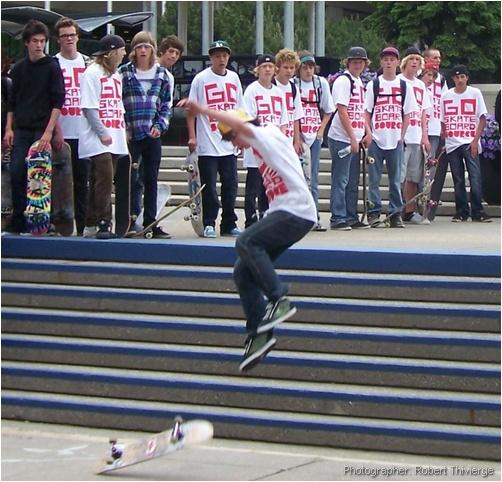 Skateboardering without a skateboard