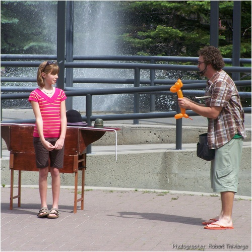 Busker Magic payoff time
