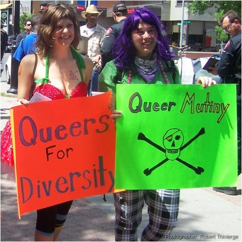 Queers for Diversity in Calgary