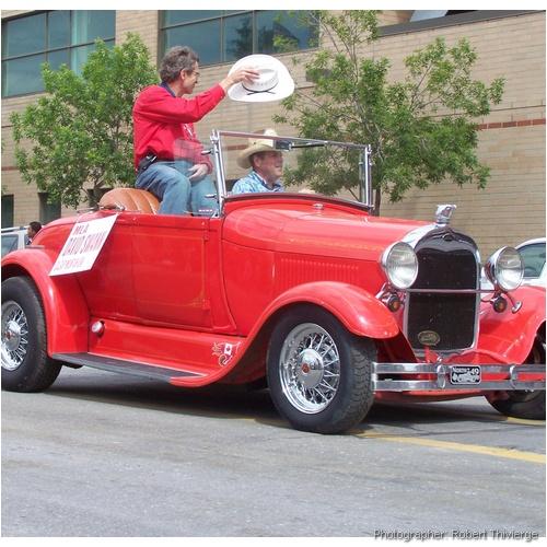 David Swann in 2009 Stampede Parade