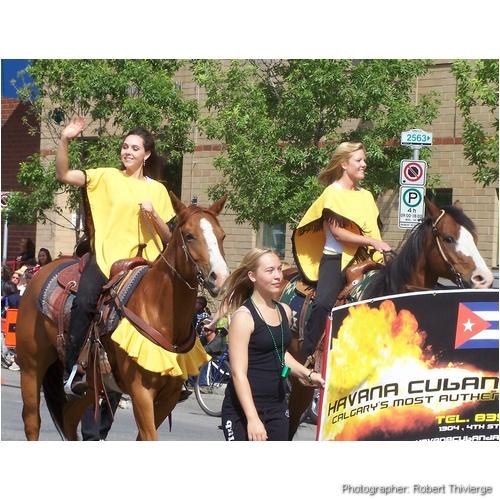 Sun and Salsa on Horseback