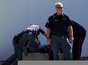 Calgary police brutality cover-up?