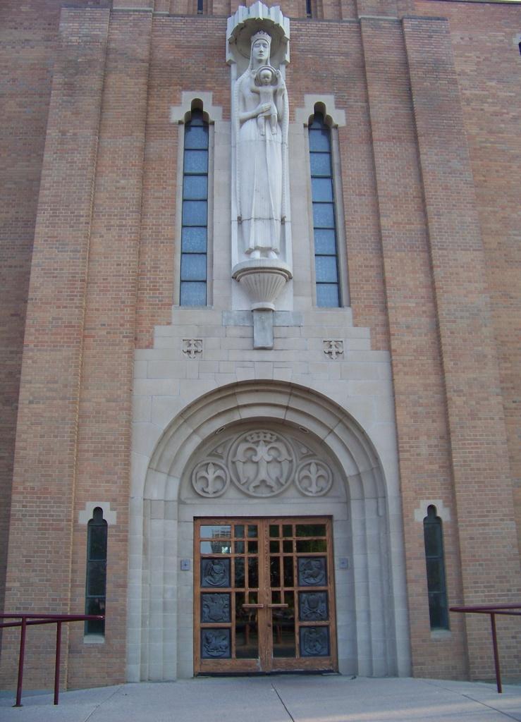 St. Mary's Church entrance