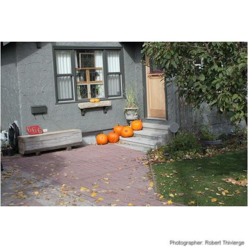 Pumkin steps to Halloween