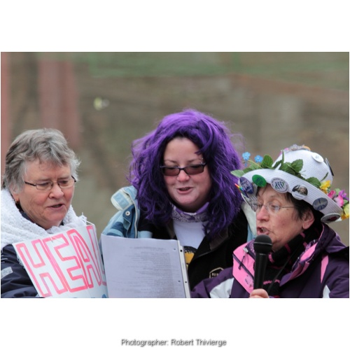Grannies Rage for Healthcare