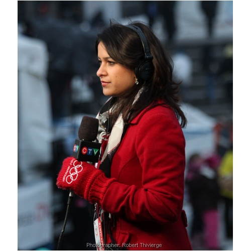 CTV coverage of Olympic Party