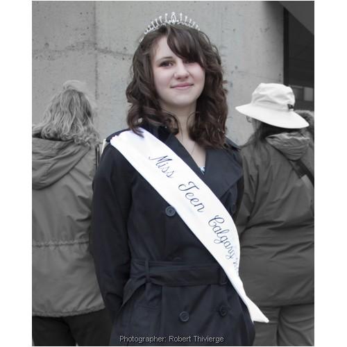 Miss Teen Calgary ready for parade