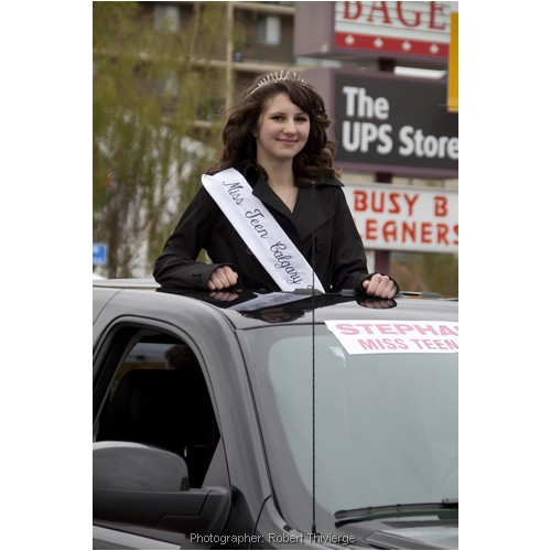 Miss Teen Calgary at Lilac