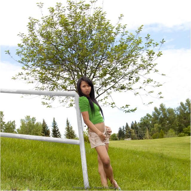 Tree at back - recolourized
