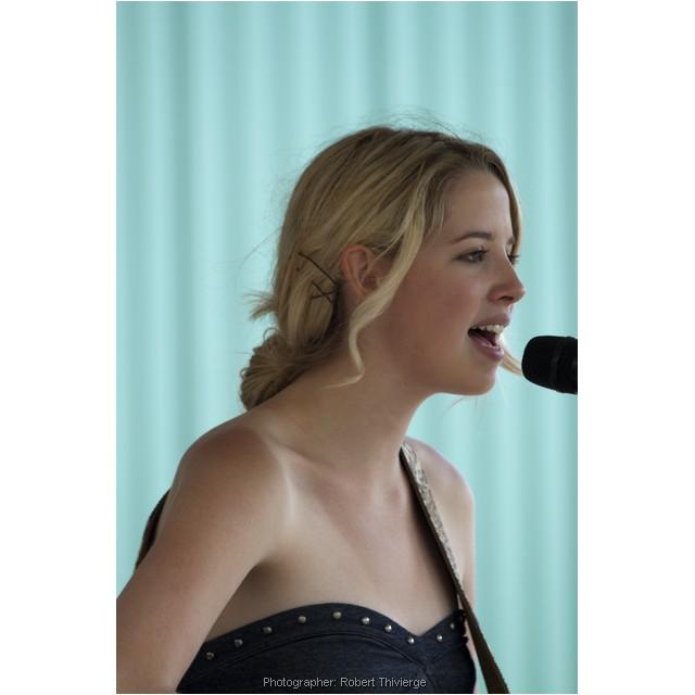 Singing at the Stampede 2010