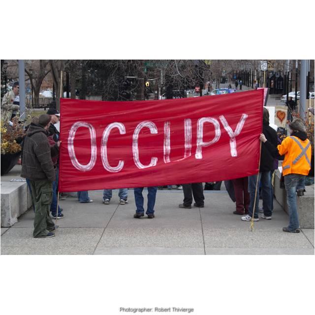Occupy Calgary Flipped Around