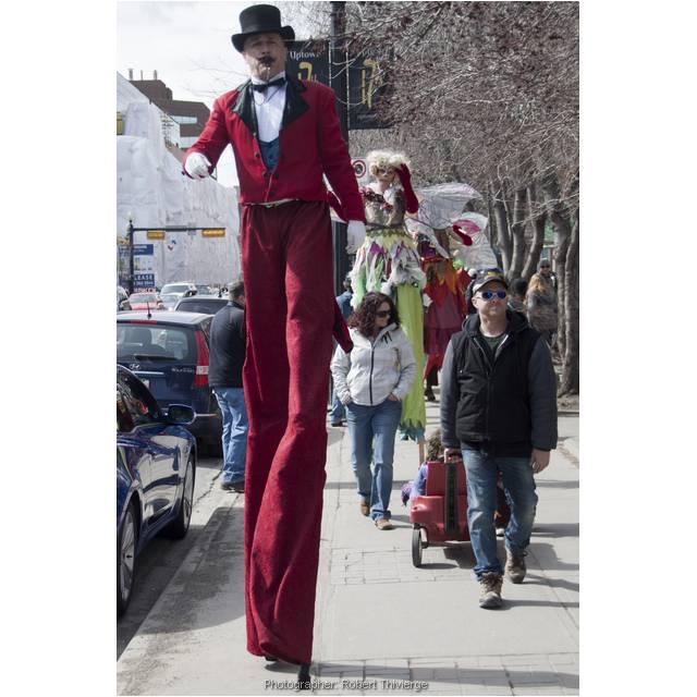 Walking Tall in Fools Parade