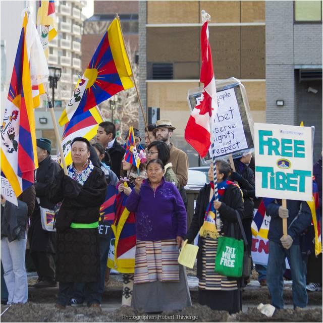 Waving the flag for Tibet