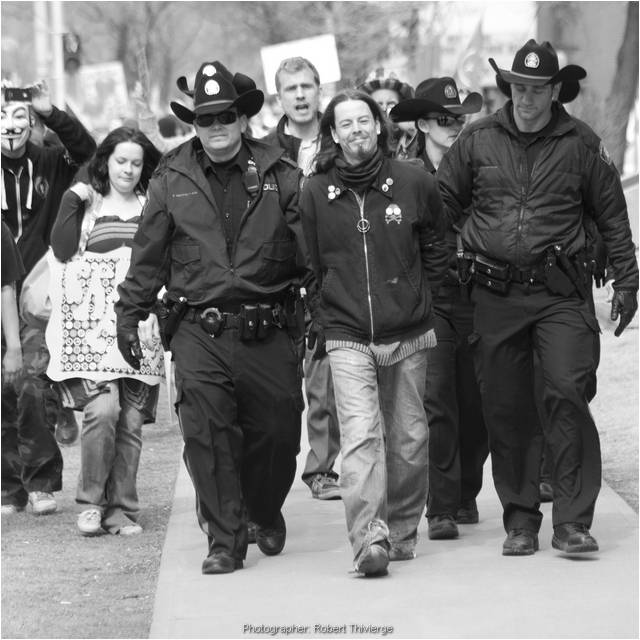 Arrest Leads the March