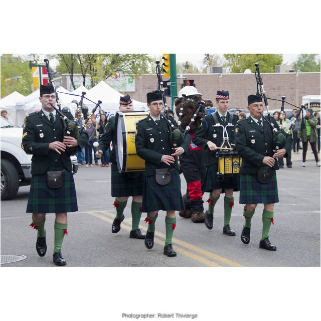 Bag Pipes on Parade for Lilac