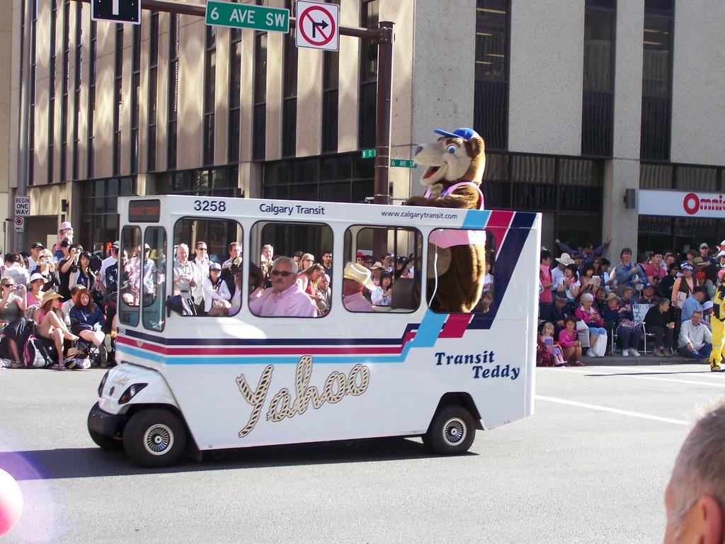 Transit Teddy Bus