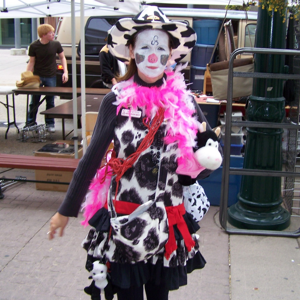 Cowgirl Clown