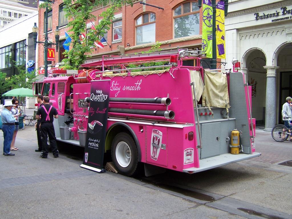 Pink Fire Truck 2