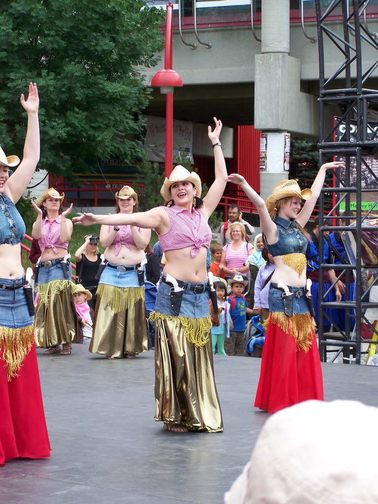 Cowgirl Belly Dancers 04