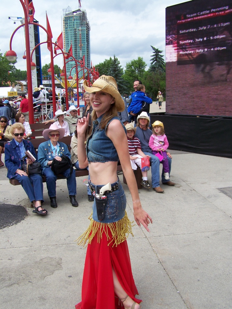 Cowgirl Belly Dancers 09