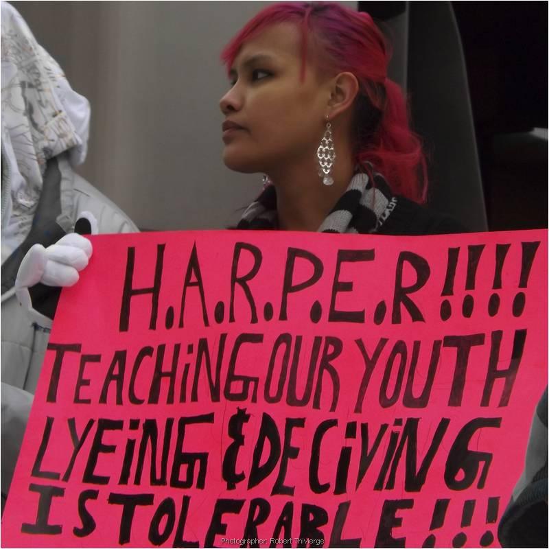 Opposing Harper