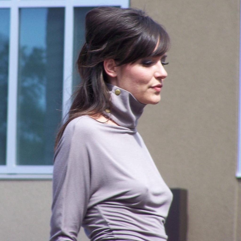 Sarah Foot walks back