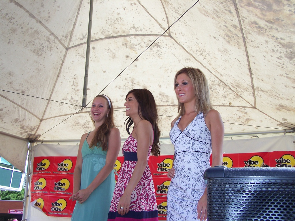Kym, Veronica, and Nicole
