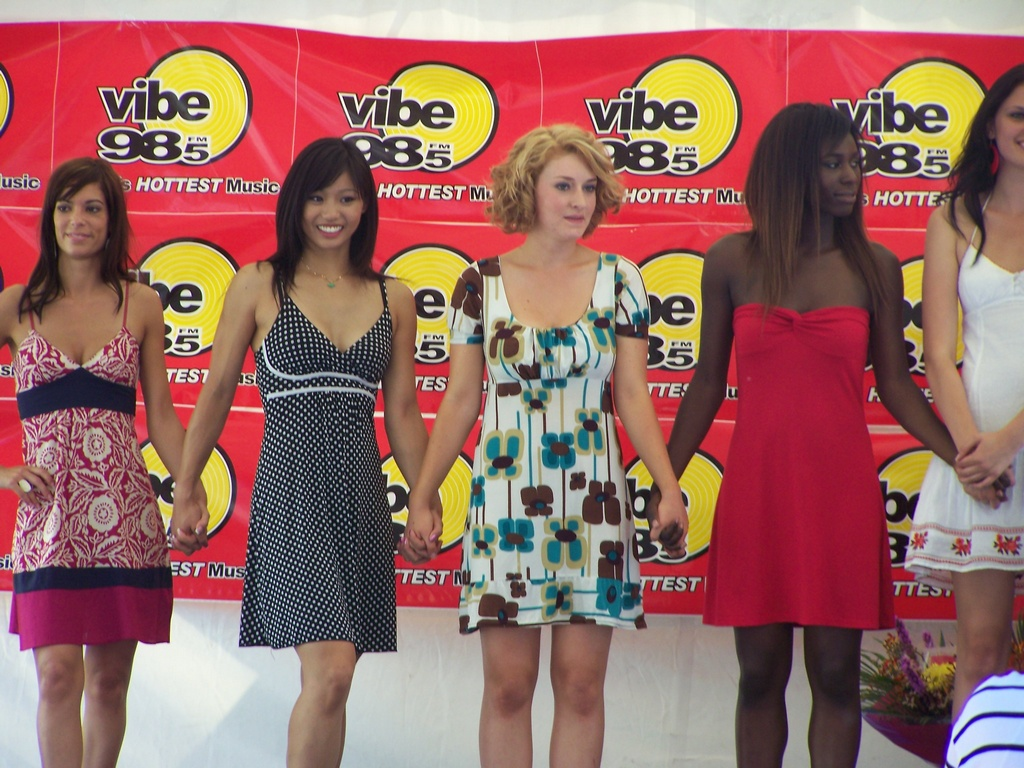 Veronica, Jessica, Amoreena, Adwoa, and Lauren