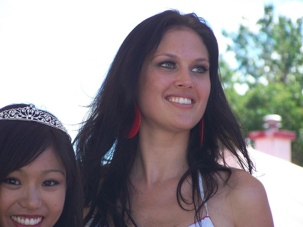 Lauren McKamey smiles