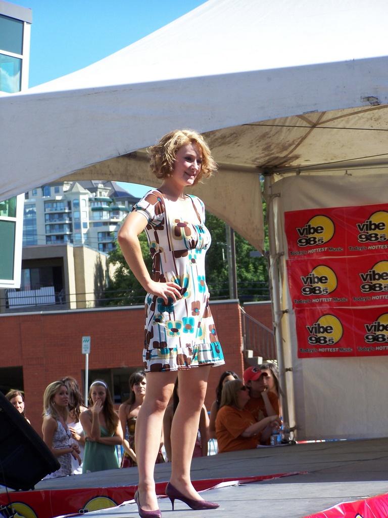 Amoreena Ashe on stage