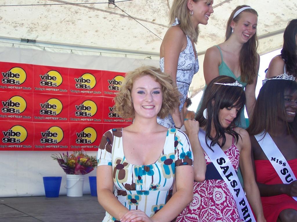 Amoreena Ashe smiles at the camera
