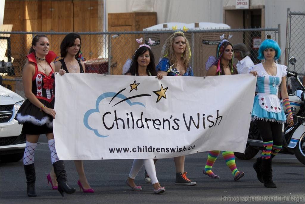 Children's Wish With Calgary Pride